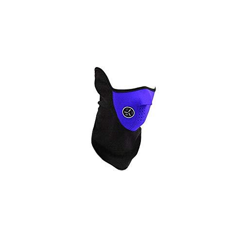 Erduo Unisex Mode Frühjahr Outdoor Sports Motorrad Fahrrad Radfahren Paintball Filter Guards Staubdicht Halswärmer Gesichtsmaske-Blau