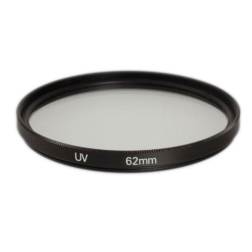 Ares Foto® MC UV Filter, Slim Schutzfilter mit Mehrschichtvergütung für Canon Sony Nikon Leica Fujifilm Panasonic Pentax Sigma Tamron Pentax (62mm)