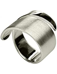 Humorous Silbermoos Ring Damen Verlobung Spirale Sterling Silber 925 Other Fine Rings