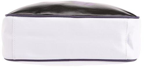 Gola Classics, Redford, Unisex_Adulto Nero - Bianco - Viola scuro