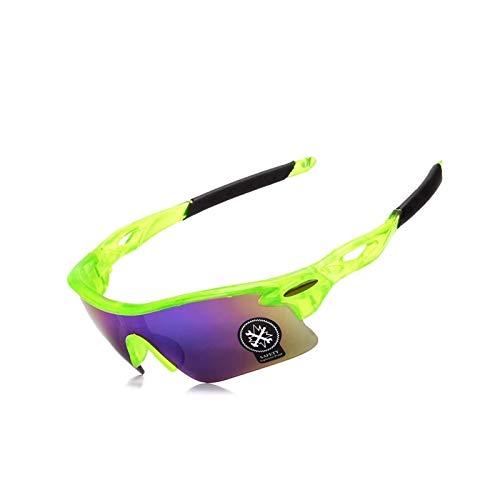 Daesar Unisex Schutzbrille Winddicht Motorradbrille Unisex Grün Sportbrille Outdoor