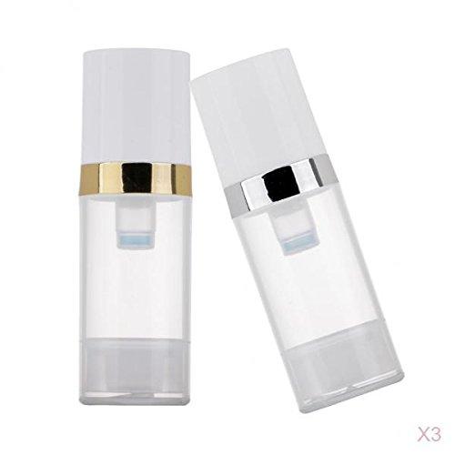 MagiDeal Distributeur de Flacons de Pompe,Bouteilles de Maquillage avec pompe 6pcs