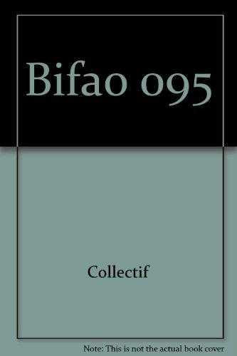 Bulletin de lInstitut franais darchologie orientale - numro 95