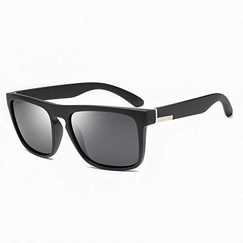 Mode Sport Laufen Angeln Fahren Sonnenbrillen Herren Polarisierte Sonnenbrillen Brille (Color : Schwarz, Size : Kostenlos)