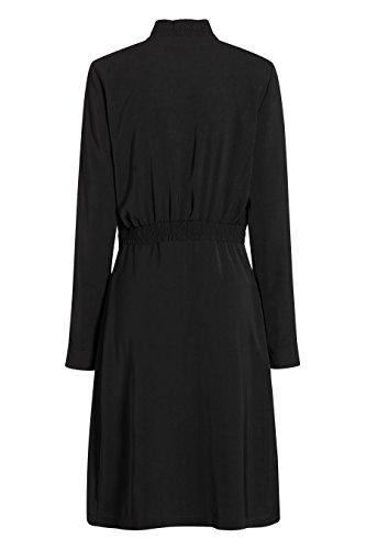 next Femme Petite Taille Robe Blouson Brodée Noir
