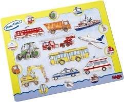 Haba 2442 Ratz Fatz Entdecker-Puzzle Fahrzeuge