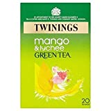 Twinings Green Tea with Mango & Lychee 20 per pack