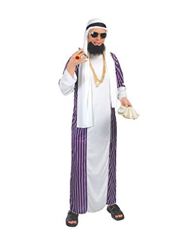 Araber Kostüm für Herren One Size (Klassische Playboy Bunny Kostüm)
