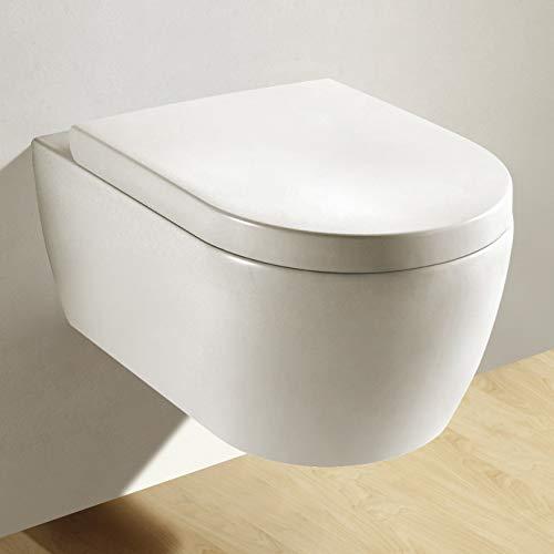 NEG Hänge-WC Uno11, mit geschlossenem Unterspülrand - 7