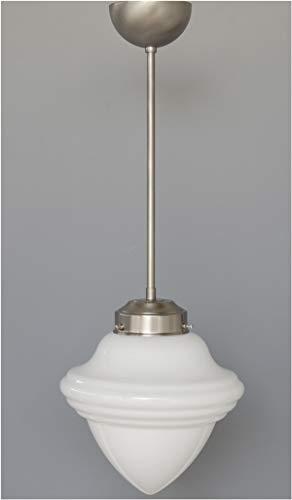 LMS Leuchten Pendelleuchte P 07-30-8 mit Glas C-33 Art Déco Deckenlampe Hängeleuchte Wohnraumleuchte