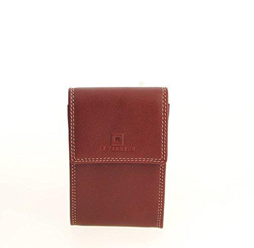 Le Tanneur, Borsa a spalla uomo rosso rosso 7.0 (L) x 11.0 (H) x 1.0 (E) cm