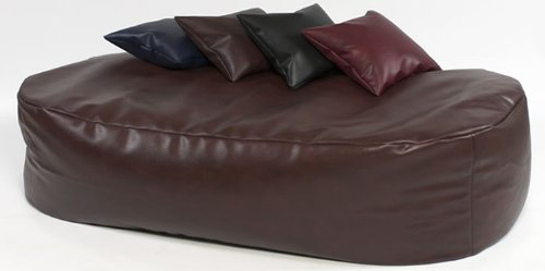 xxxx-l-6-ft-brown-faux-leather-beanbag-bed-bean-bag-sofa-bed
