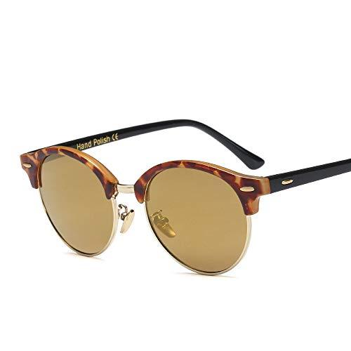 WULE-RYP Polarisierte Sonnenbrille mit UV-Schutz Unisex- persönlichkeit Nicht verschreibungspflichtige Brille Brillen klare linse, Trend Sonnenbrille Superleichtes Rahmen-Fischen, das Golf fährt