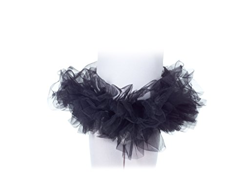 Tutu Costume Accessory Child: Black One Size Fits ()