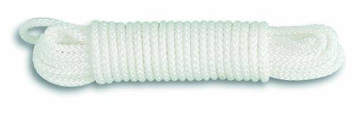 Chapuis DN10 Corde polyamide tressée 1,5 T D 10 mm L 10 m Blanc