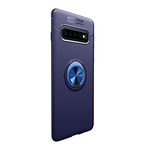 Bigbigk Handyhalterung Auto Hülle kompatibel mit Galaxy S10plus, 360 Grad Ring Universal Magnet Lüftung Kfz Halterung Halter Schutzhülle Magnetic Handyhalter Mount (5, Galaxy S10plus) Serie Magnet Mount