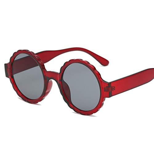 Shiduoli Candy Farbe Sonnenbrille für Frauen kleine Spiegel linse Fashion Party Sonnenbrille transparent Candy Farbe Brillen (Color : G)