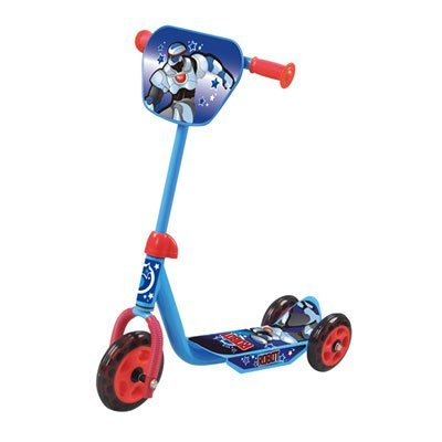 MONOPATTINO 3 RUOTE AZZURRO GIRAFFA 0006A (three- wheels Scooter)