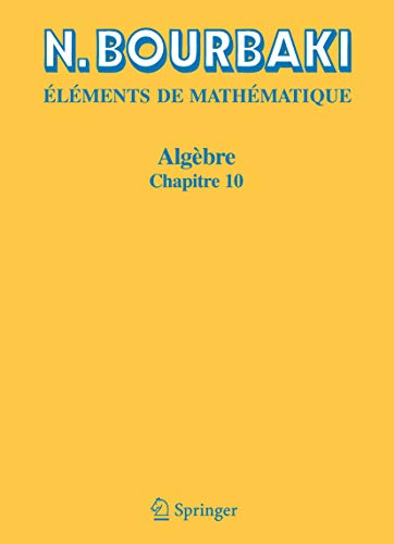 Algèbre: Chapitre 10. Algèbre homologique (Elements De ...