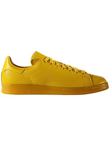 newest 3482a 2161d Sneaker Adidas Adidas Originals Stan Smith Adicolor Hombres zapatilla de  deporte amarillo S80247