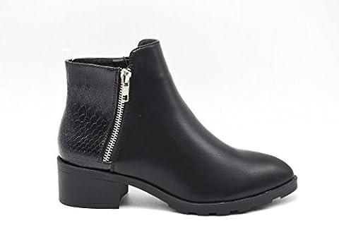 Low Boots Zip Arriere - SHF19 * Bottines Low Boots Chelsea à