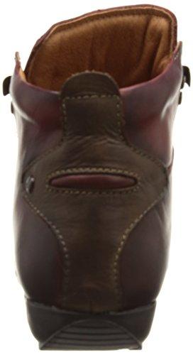 Pikolinos Lisboa 767, Chaussures hautes femme Rouge (Arcilla Df)