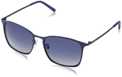 Sting ss4901, occhiali da sole uomo, blu (rubberized full blue), taglia unica