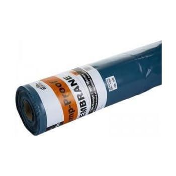 5x20m Film plastique d/étanch/éit/é sous-dalle en poly/éthyl/ène noir Type 200