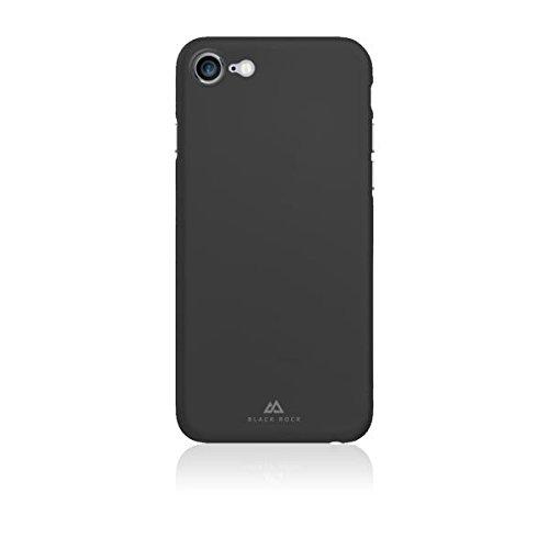 Black Rock Ultra Thin Iced Case Hülle kompatibel mit Apple iPhone 7 & 8 Schwarz