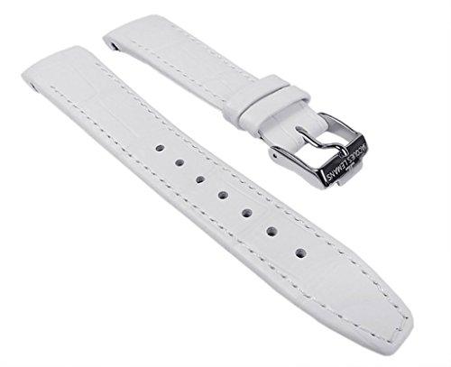 Jacques Lemans Ersatzband Uhrenarmband Kalbsleder Band 18mm für 1-1571 1-1710