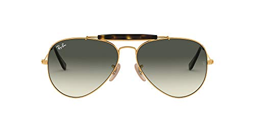 Ray-Ban Herren Rb 3029 Sonnenbrille, Gold/Lightgreygradientdarkgrey, One size (62)