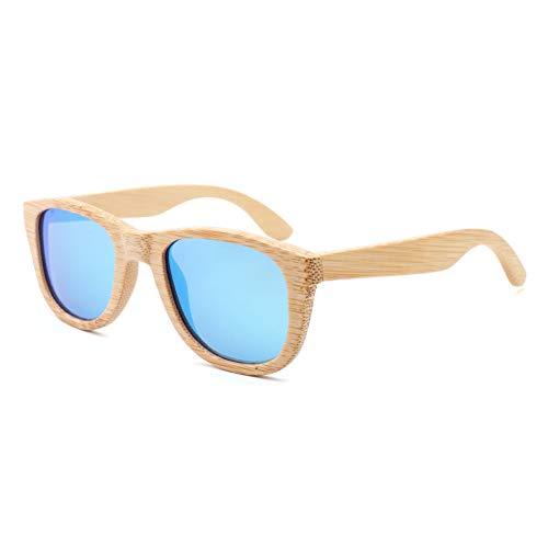 TISESIT Personalisierte Aviator Holz Holz Sonnenbrille UV400 Unisex Sonnenbrille Groomsmen Geschenke, mit Box,B
