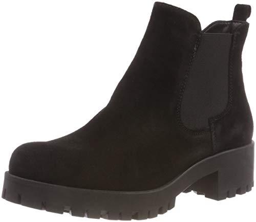 Tamaris Damen 25435-21 Chelsea Boots, Schwarz (Black Uni 7), 39 EU