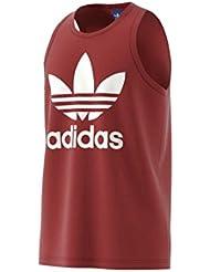 adidas Trefoil Camiseta sin Mangas, Hombre, Rojo (Rojmis), L