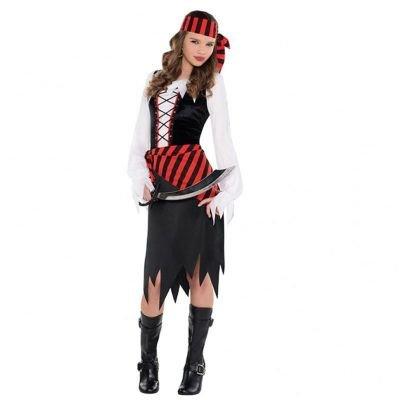 Piraten Schönheit Teenie Kinder Gr. -