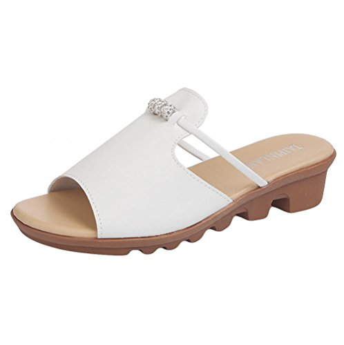 ca7324bcc1d39 Lolittas Sandals Summer Diamante Wedge Sandals for Women Ladies ...