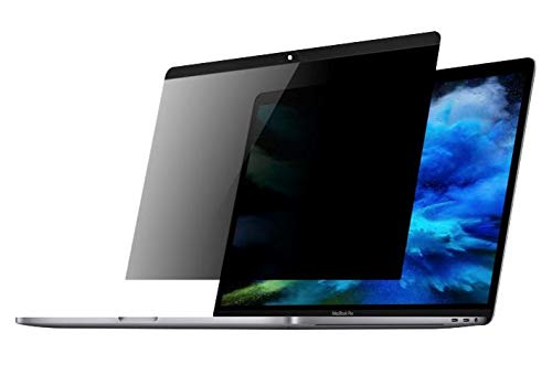 XtremeMac XMPRIV-MBA13 Magnetischer 120° Sichtschutz für das MacBook Pro Retina Bildschirm 13 Zoll, Anti-Spy-Folie für Kratzfest & Anti-Fingerabdruck, Schutzfolie