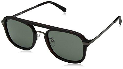Nautica Herren N4628Sp 237 56 Sonnenbrille, Braun (Matte Dark Tortoise),