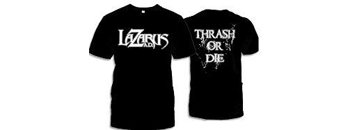 Preisvergleich Produktbild Lazarus A.D. - Thrash Or Die Band Shirt (Gr. L)