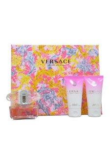 Versace Bright Crystal Confezione Regalo 50ml EDT + 50ml Bagnoschiuma & Gel Doccia Profumato + 50ml