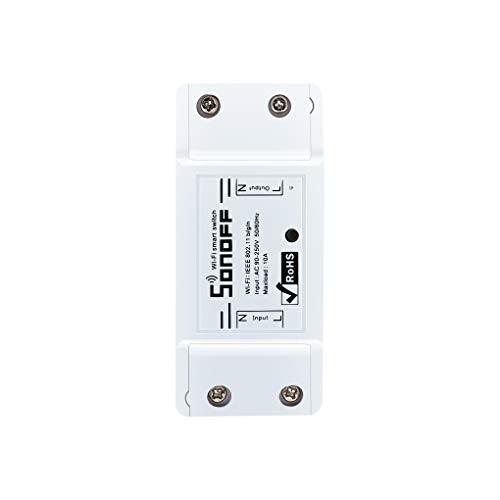 LUFA Sonoff Wifi Switch Wireless Control Automation Smart Power Socket DIY Smart Home Work con Amazon Echo Alexa supporto iOS Android
