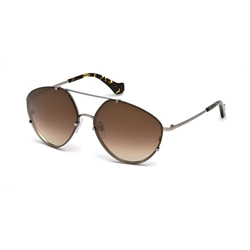 balenciaga-ba0085-aviator-metal-men-light-ruthenium-brown-shaded-mirror14g-60-15-135
