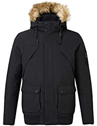 136b05851d2 Tog24 Aviation Mens Waterproof Jacket Down Fill Bomber Style Casual Coat