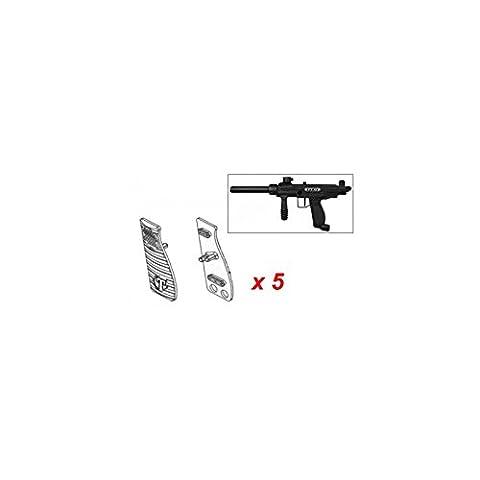 Grip noir pour FT12 - Pack de 5 - Tippmann