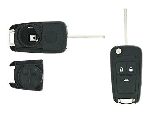 Coque de clé adaptable Opel 3 boutons Klemax référence: OPE306 cÎté Passager