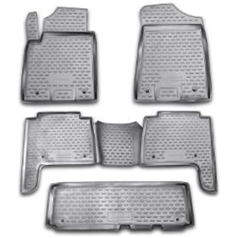 Novline 76,08.210 QX56, Infiniti-Nissan Patrol-tappeti, rivestimenti per pavimenti, 2011-2014, Set di cinque (5) Novline, colore: (Infiniti Qx56)