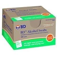 Box Of 100 Sterile Alchcol Swabs - Case of 12 by Becton Dickinson preisvergleich bei billige-tabletten.eu