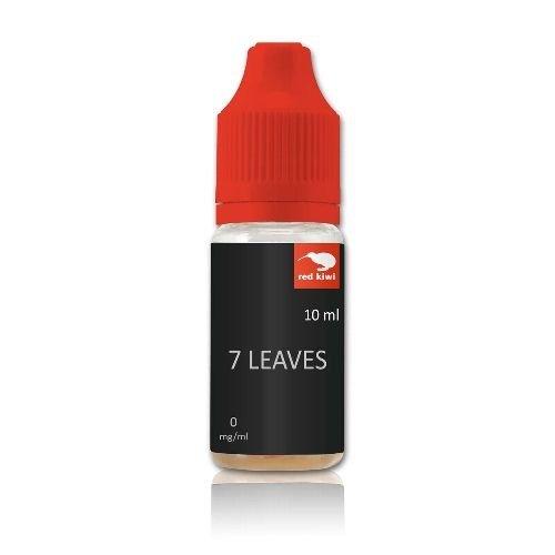E-Liquid red kiwi 7 Leaves nikotinfrei Flasche 10 ml