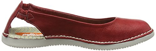 Softinos Damen Tor384sof Ballerinas Rot (Red)