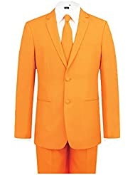 Costume Homme Orange